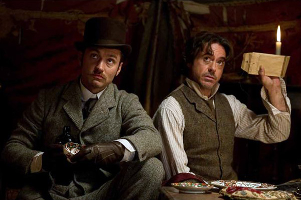 "sherlock holmes: a game of shadows film reveiw essay ""sherlock holmes: a game of shadows"" confects a smoky, overcast victorian world, infuses it with an air of jocular, hairy laddishness and stages a lot of fights."