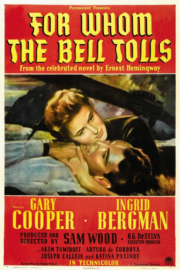 wars effects on man and the importance of time in for whom the bell tolls Translation criticism of for whom the bell to understand the context of for whom the bell tolls, an important but also as one of the best war novels of all time.